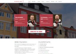 Skærmprint fra hjemmesiden for brdrfolkmann.dk