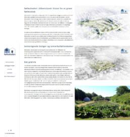 Et skærmbillede der viser fælleshedens bebyggelser i Albartslund