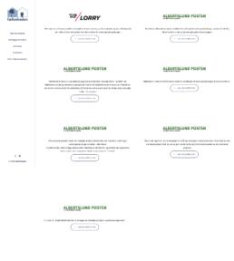 Et skærmbillede af siden der viser alt pressen der har været omkring fællesheden
